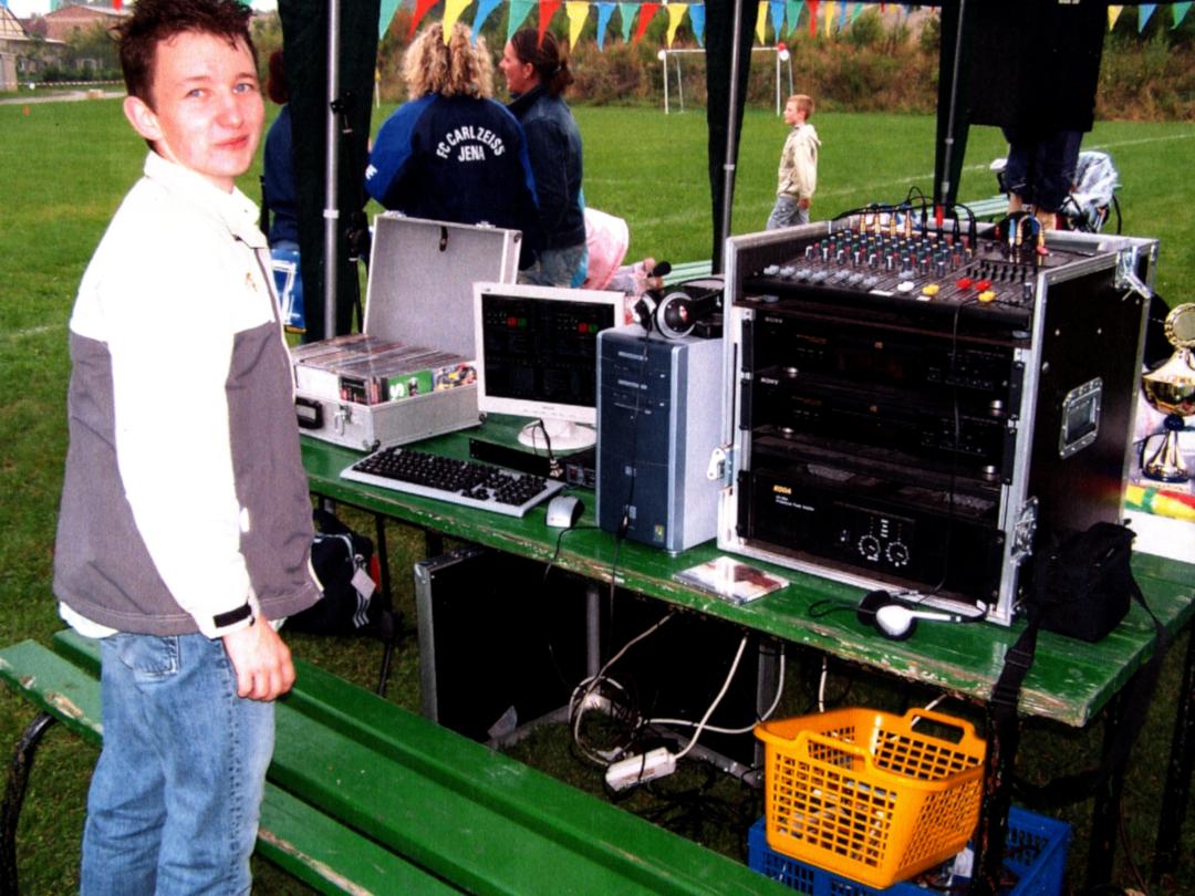 DJ Hannes Rocks in jungen Jahren - DJ Ausbildung