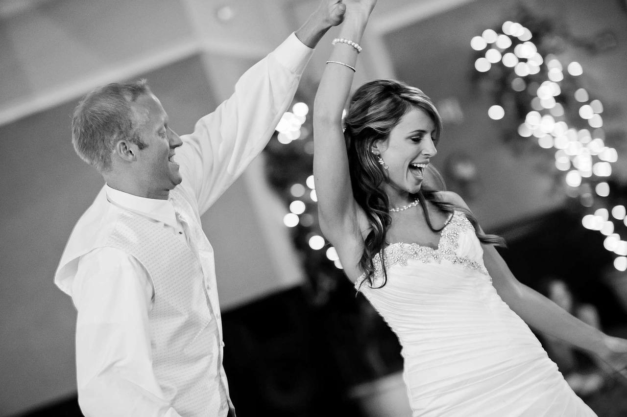 Hochzeitstanz mit Musik vom Hochzeitsdj