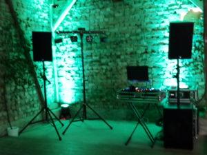 Standarttechnikpaket von DJ Hannes Rocks